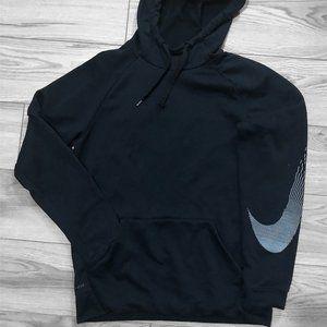 Nike Dri-Fit Linear Logo Men's SMALL Hoodie